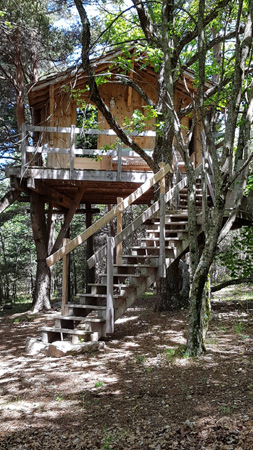 Une cabane en Haute Provence
